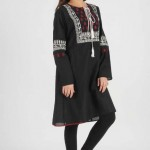 Ego The Best Pakistani Designer's Winter Dresses 2015