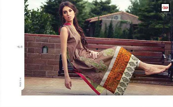 Women wear lawn suit summer desgin by LSM FabricsWomen wear lawn suit summer desgin by LSM Fabrics