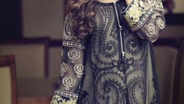 Maria B latest Party Dresses Collection For Winter 2015 (1)