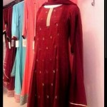 Cherry Wrap Formal Embroidery Outfits 2015 for Girls (3)