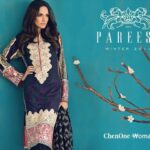 Pareesa new winter Dresses 2015 for women (5)