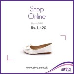 Stylo Shoes latest Winter Sale Offer 2015 for Girls in Pakistan (1)