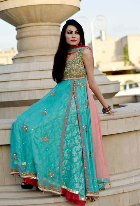 New Fashion Clothes Frocks Designs 2015 for Girl (2)