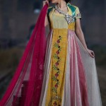 Zahra Ahmad Party Wear Dresses Collection 2015 (2)