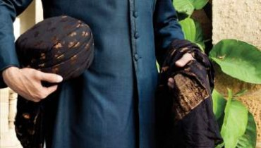 Junaid Jamshed Latest Sherwani Groom Dresses 2015 For Men (2)