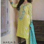 Maria b lawn Latest 2015 for spring summer for girls (1)