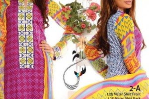 Sheen Summer Lawn Dresses Fashion 2015 by Flitz (1)