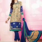 New Indian Casual Churidar Shalwar Suits 2015 (1)