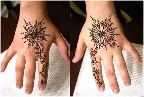 Stylish Mehndi Designs Guideline for Young Girls 2015
