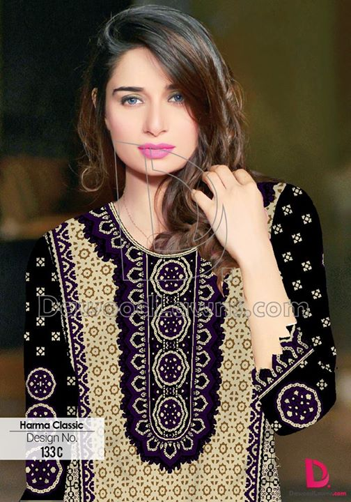 Colorful HARMA CLASSIC LAWN VOL 3 for Girls