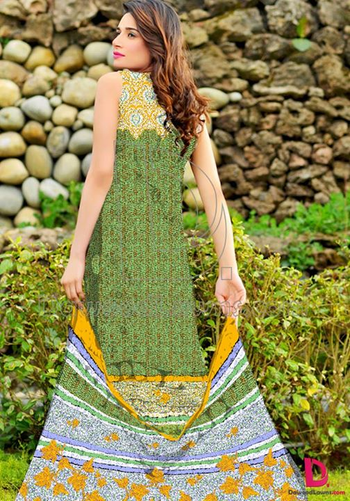 Eid ul fiter lawn dresses by Dawood Textiles