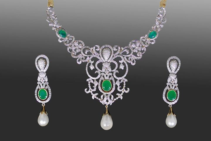 Stylish Necklace New Designs 2015 For Brides