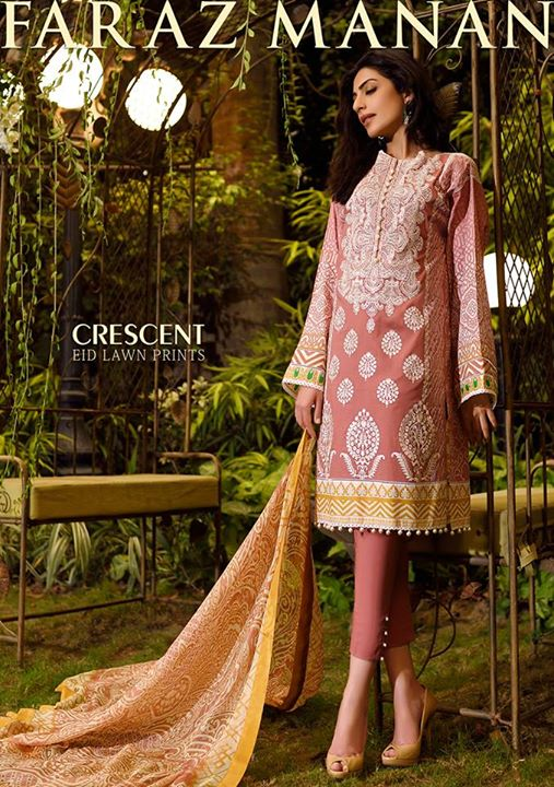 Faraz Manan Crescent Eid Collection 2015 (2)