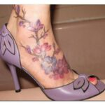 Elegant Feet Tattoos 2016 For Girls
