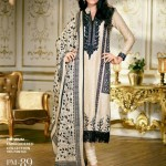 Gul Ahmed Latest Premium Chiffon Dress 2015 for Women (1)