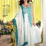 Gul Ahmed Latest Premium Chiffon Dress 2015 for Women (3)