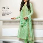Gul Ahmed Latest Premium Chiffon Dress 2015 for Women (4)
