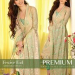 Gul Ahmed Latest Premium Chiffon Dress 2015 for Women (5)