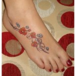 Latest Foot Tattoos Designs For Girls