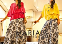 Maria B Stylish Palazzo Fashion with Shirts for Girls (3)