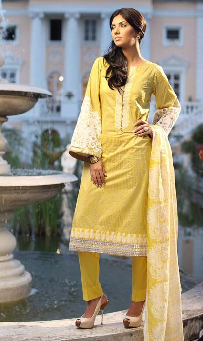 New Premium Lawn Eid Ul Fitr 2015 Collection by Orient Textiles (5)