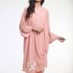 Nida Ali Eid Exclusive Double Shirt 2015 Fashion for Girls (2)