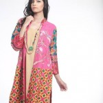 Nida Ali Eid Exclusive Double Shirt 2015 Fashion for Girls (6)