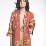 Nida Ali Eid Exclusive Double Shirt 2015 Fashion for Girls (8)
