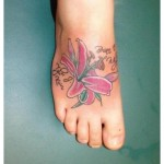 Sexy Foot Tattoos For Girls