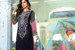 Shariq Textile eid ul Fitr Suit 2015 for Girls (4)