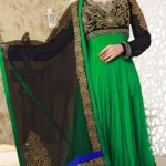 Sleeveless Long Shirts Evening eid Wear for Girls (2)