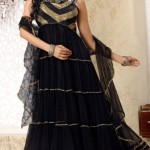Sleeveless Long Shirts Evening eid Wear for Girls (3)