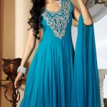 Sleeveless Long Shirts Evening eid Wear for Girls (5)