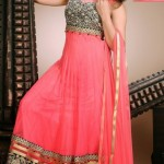 Sleeveless Long Shirts Evening eid Wear for Girls (7)