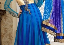 Sleeveless Long Shirts Evening eid Wear for Girls (8)