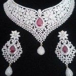 Stylish Diamond Jewelry 2015 Sets Design for Girls (2)