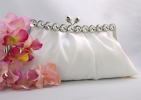 World famous White Handbags  for Bridal