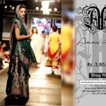 Light pink ramp dresses by Amna Ajmal