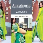 Amna Ismail Chiffon Eid Collection 2015 with Ayeza Khan (10)