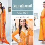 Amna Ismail Chiffon Eid Collection 2015 with Ayeza Khan (9)