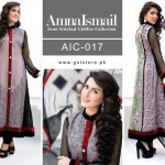Amna Ismail Chiffon Eid Collection 2015 with Ayeza Khan (1)