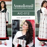 Amna Ismail Chiffon Eid Collection 2015 with Ayeza Khan (3)