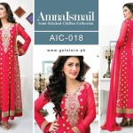 Amna Ismail Chiffon Eid Collection 2015 with Ayeza Khan (4)