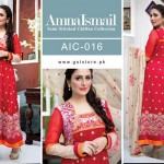 Amna Ismail Chiffon Eid Collection 2015 with Ayeza Khan (5)