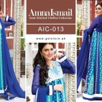 Amna Ismail Chiffon Eid Collection 2015 with Ayeza Khan (7)