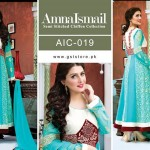 Amna Ismail Chiffon Eid Collection 2015 with Ayeza Khan (8)
