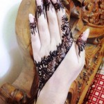 One Hand Eid ul Fitr Chand Raat Mehndi Designs 2015