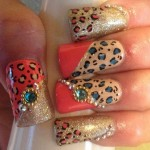 Nail Art Stylish Designs For Eid (8)