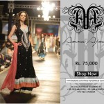 Amna Ajmal Wedding Sharara dress