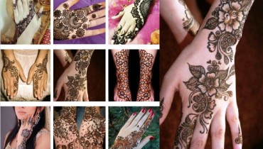 easy to make Chaand Raat mehndi Design 2015
